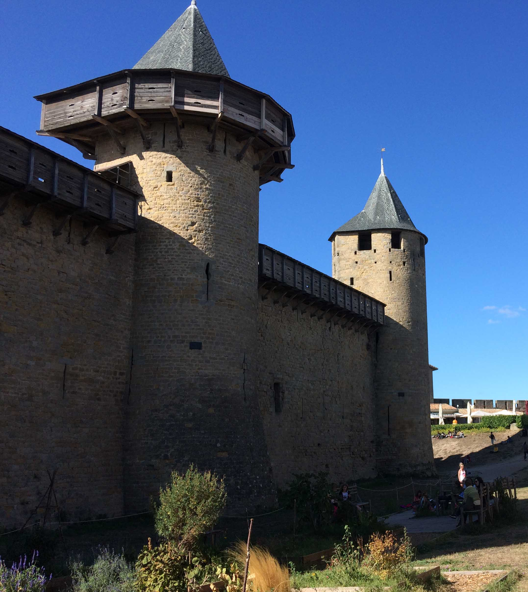 Château at Carcassonne